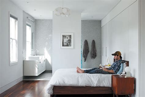 clever open plan en suite idea bedroom ideas