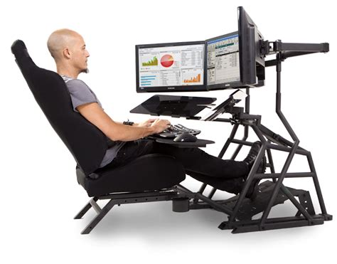 Laptop Desk And Chair Ergonomic Computer Desk Workstation Obutto