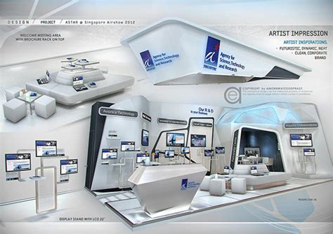 booth design company in singapore exhibition design special booth on behance