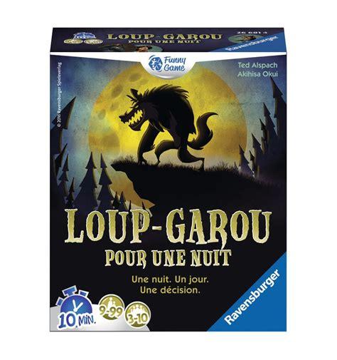 Asmodee Le Loup Garou Une Nuit by Loup Garou Pour Une Nuit C Est Le Jeu