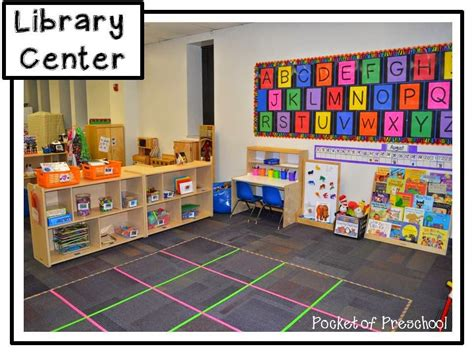 kindergarten classroom layout centers classroom reveal the library center in a preschool