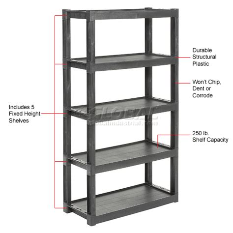 plastic storage shelving images