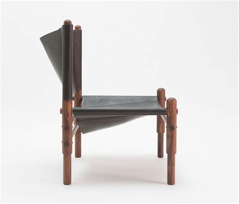 sling bench sling chair walnut lounge chairs from workstead architonic
