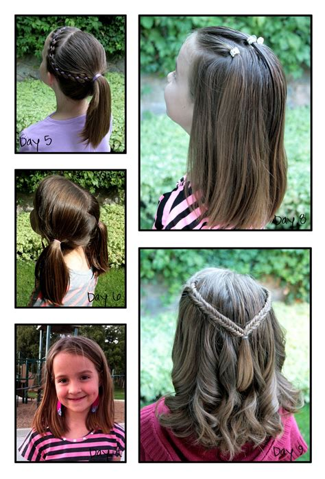 healthy hair fir 7 yr min hairstyles for hairstyles for year olds best images