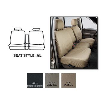 Garage Seat 17 by 17 18 Ram Seatsaver Front Seat Cover 40 20 40 Seats