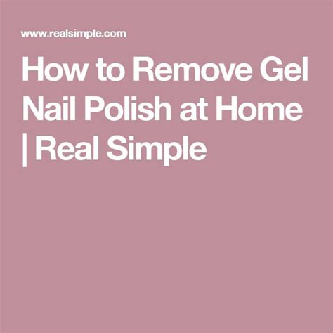 how to do gel nails at home without uv light how to remove gel polish at home without destroying your