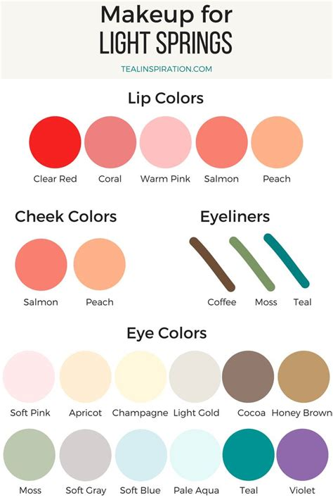 spring colors best 25 light spring palette ideas on pinterest light
