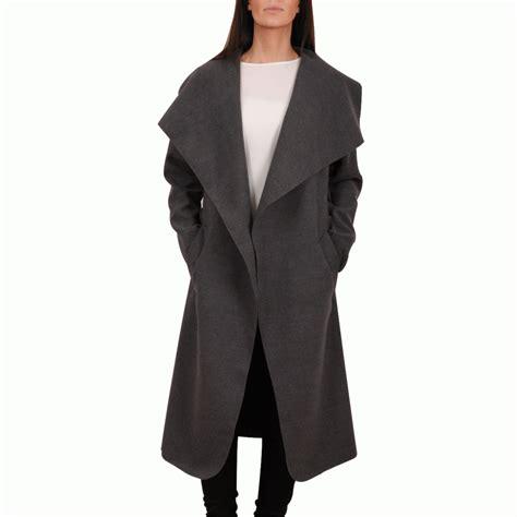 Keyra Blouse Grey keira grey waterfall breast coat