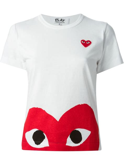 Tshirt Play comme des garcons play t shirt www imgkid the