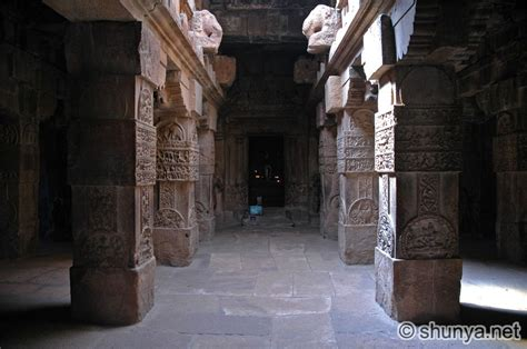 Temple Interior by Pattadakal India Shunya
