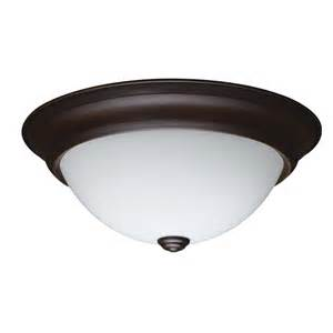 shop project source 13 in w bronze integrated led ceiling