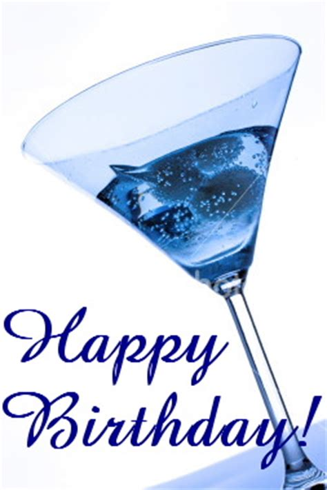 birthday martini gif birthday wishes with drink