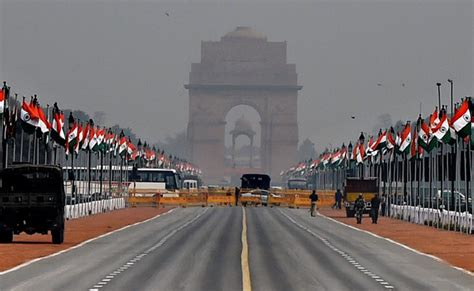 india republic day republic day 2017 delhi traffic advisory on roads to