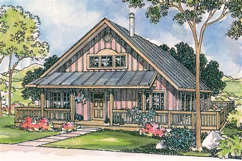 Cottage House Plans   Cordell 30 185   Associated Designs