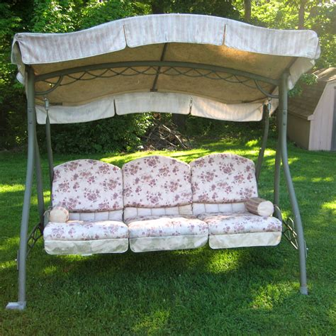 Outdoor Furniture : Porch Swing Cushions Maintenance And