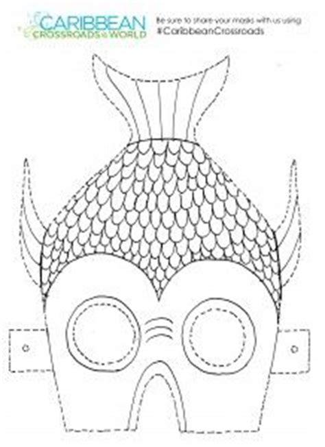 printable fish mask template fish mask template