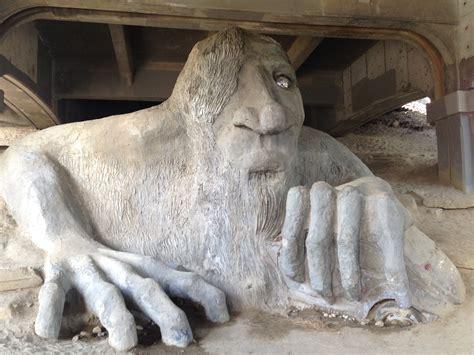 troll bridge the fremont troll