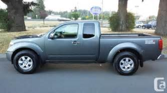 2007 Nissan Frontier For Sale 2007 Nissan Frontier 4x4 For Sale In Koksilah