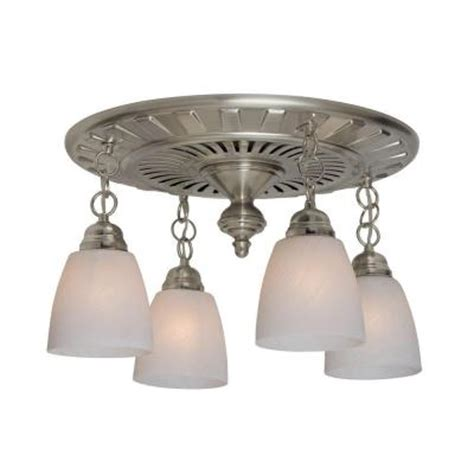 decorative bathroom fan light hunter montesino decorative brushed nickel 110 cfm exhaust
