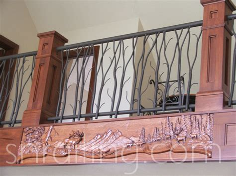 Custom Banisters by Residential Railings Traditional Staircase Salt Lake