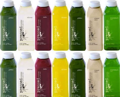 Los Angeles Detox Juice by Detox Diaries With Pressed Juicery Pressed Juicery Detox