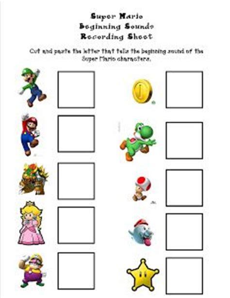 Mario Math Coloring Worksheets