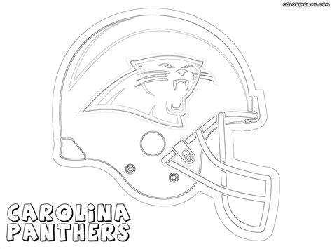 panthers coloring pages nfl cool coloring pages nfl american football clubs logos