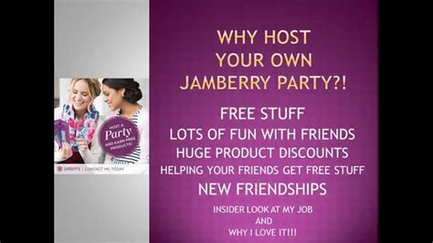 hosting party why host a jamberry party with me youtube