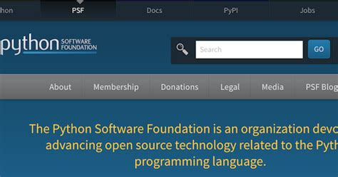 Python Software Foundation python software foundation news run for the board of