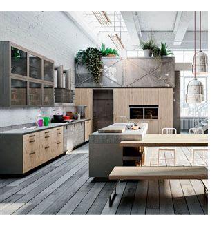decorar cocinas grandes 1 001 ideas de decoraci 243 n de cocinas 20018