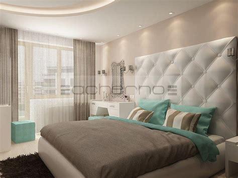 weißes und blaues schlafzimmer grau idee schlafzimmer