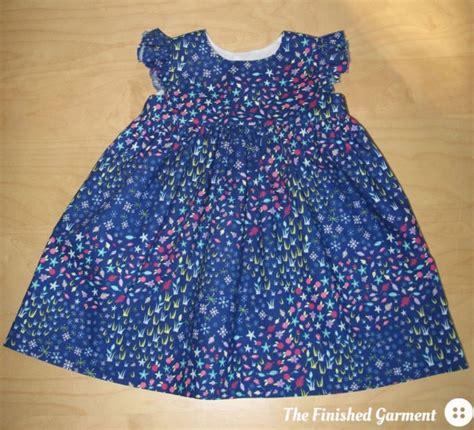 free pattern geranium dress a summer geranium the finished garment