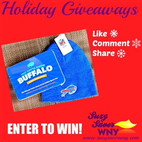 Giveaways To Enter - holiday giveaways enter to win a buffalove prize pack