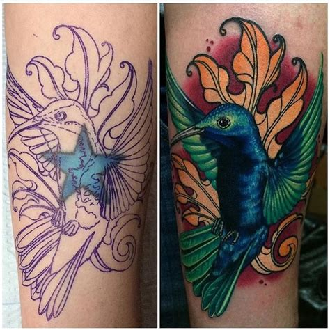 tattoo cover up instagram megan massacre on instagram fbf hummingbird cover up