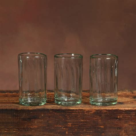 homart hacienda recycled glass juice glass areohome