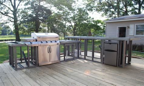 outdoor kitchen diy building outdoor kitchen modular outdoor kitchens costco