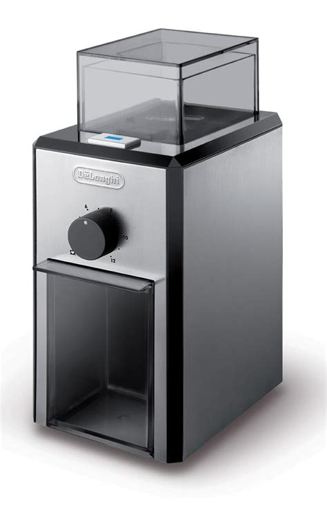 Coffee Grinders Delonghi Kg89 Delonghi Stainless Steel Burr Coffee Grinder With Grind Selector And Quantity