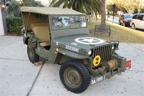 1948 Willys Jeep For Sale 1948 Jeep Willys Cj2a For Sale