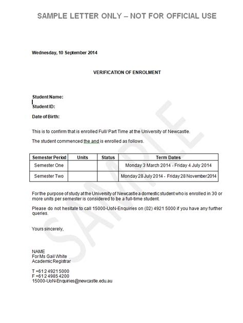 Student Confirmation Letter Nottingham 18 sle cover letters for teachers letter