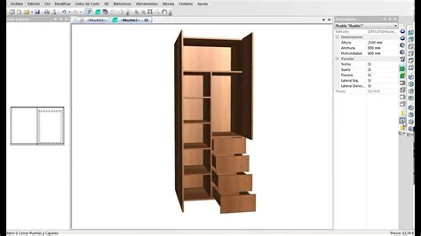 programa  disenar muebles armarios cocinas