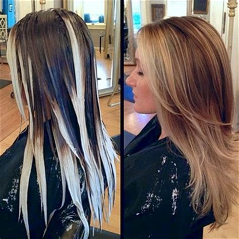 long hair big chunck color ideas for summer la t 201 cnica balayage original paso a paso bella en casa