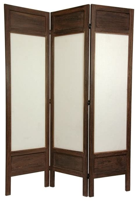 Fabric Room Divider 6 Ft Solid Frame Fabric Room Divider 3 Asian Screens And Room Dividers By Ivgstores