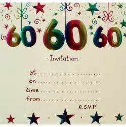 60th birthday invites free template 20 ideas 60th birthday invitations card templates
