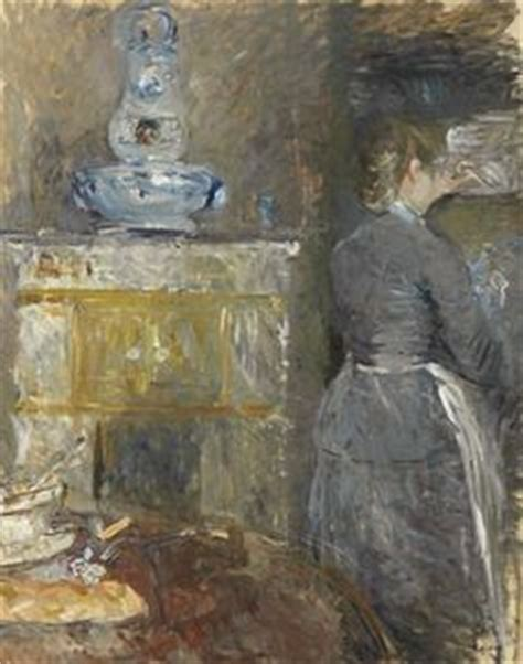 berthe morisot in the dining room manet morisot et gonzalez on pinterest edouard manet