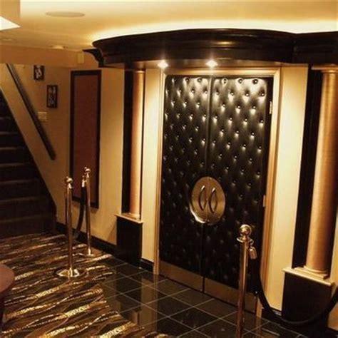 home theater door idea basement ideas pinterest