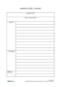 Meeting Notes Templates by Doc 585720 Meeting Note Taking Template Meeting Notes