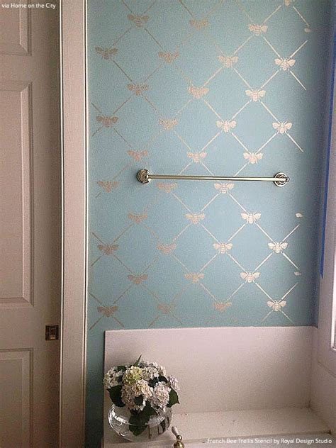 bathroom wall stencil ideas best 25 pastel bathroom ideas on bathroom