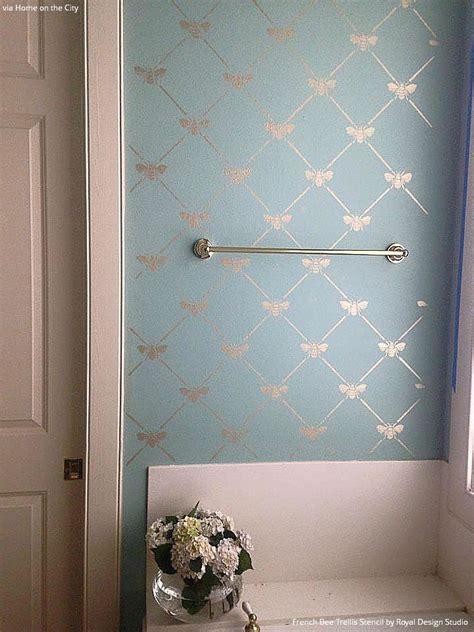Bathroom Wall Stencil Ideas Best 25 Pastel Bathroom Ideas On Pinterest Bathroom Renovations Melbourne Melbourne