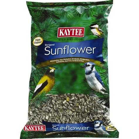 striped sunflower wild bird seed premium bird food