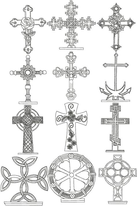 embroidery design cross advanced embroidery designs redwork cross set